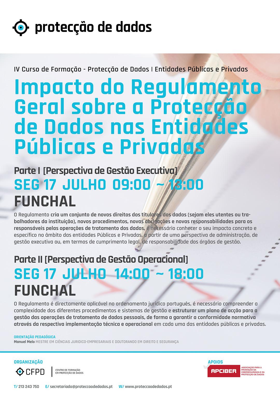 Curso de Protecção de Dados - Funchal - Dia 17 de Julho
