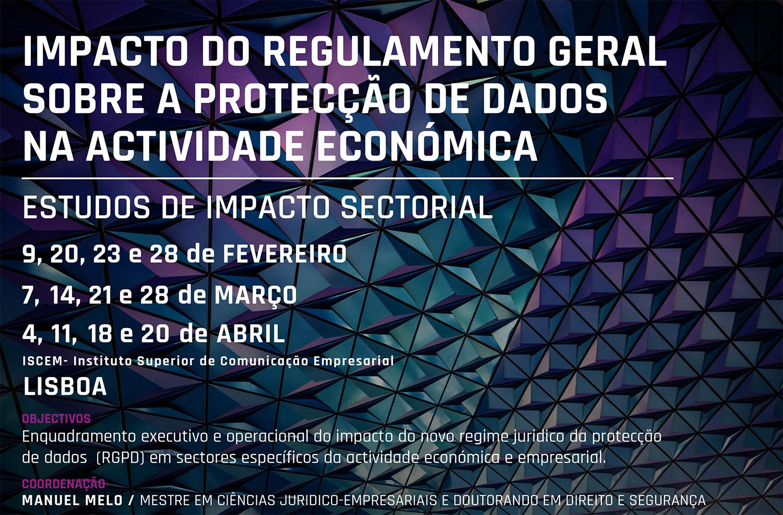 Ciclo de Cursos Sectoriais - Protecção de Dados em Sectores de Actividade Económica