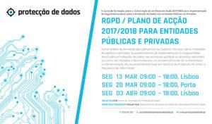 II Curso de Formação - «RGPD / Plano de Acção 2017/2018 para Entidades Públicas e Privadas»