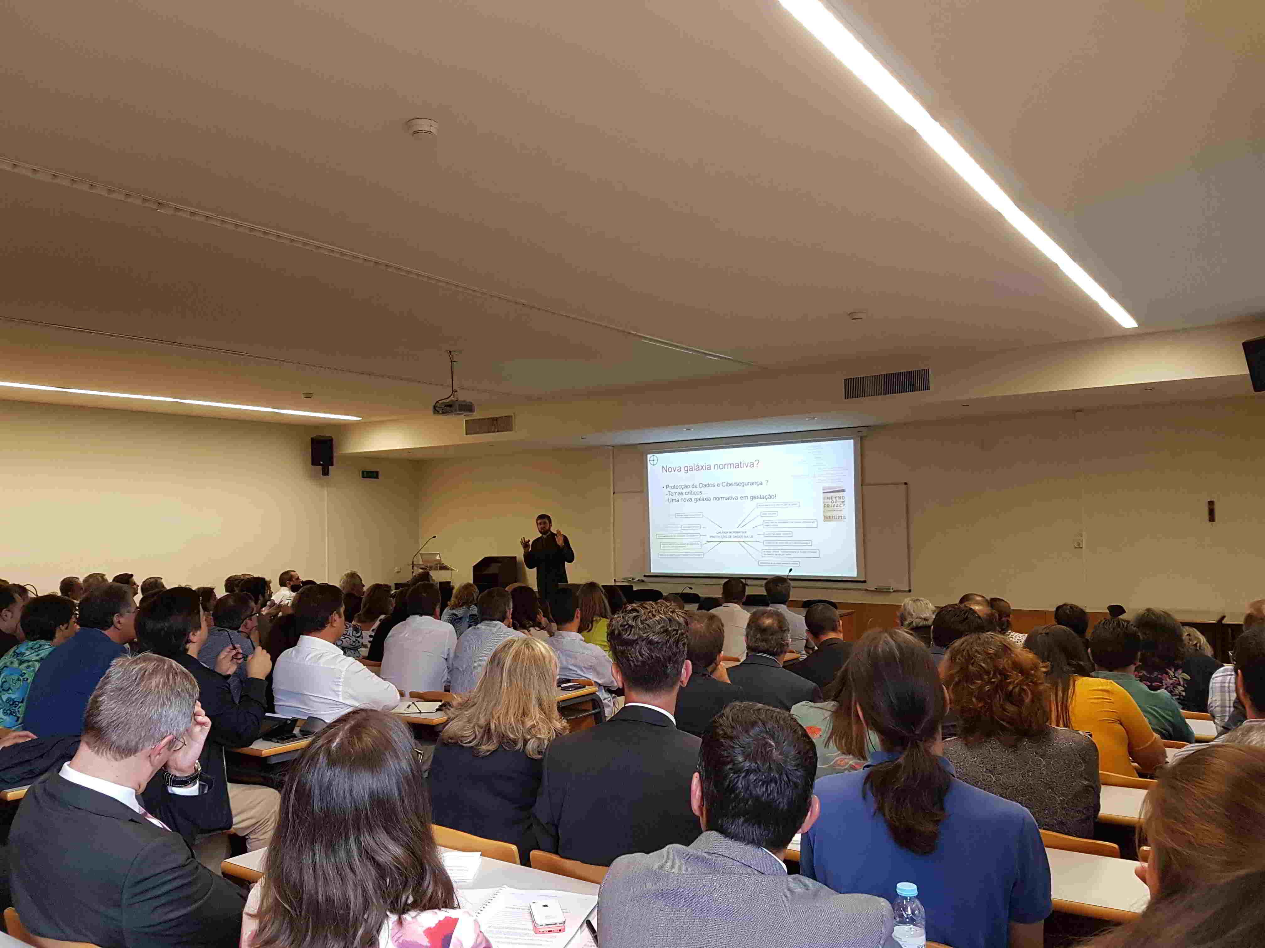 Palestra – «Impacto do Regulamento Geral sobre a Protecção de Dados nas Empresas Privadas e na Administração Pública»