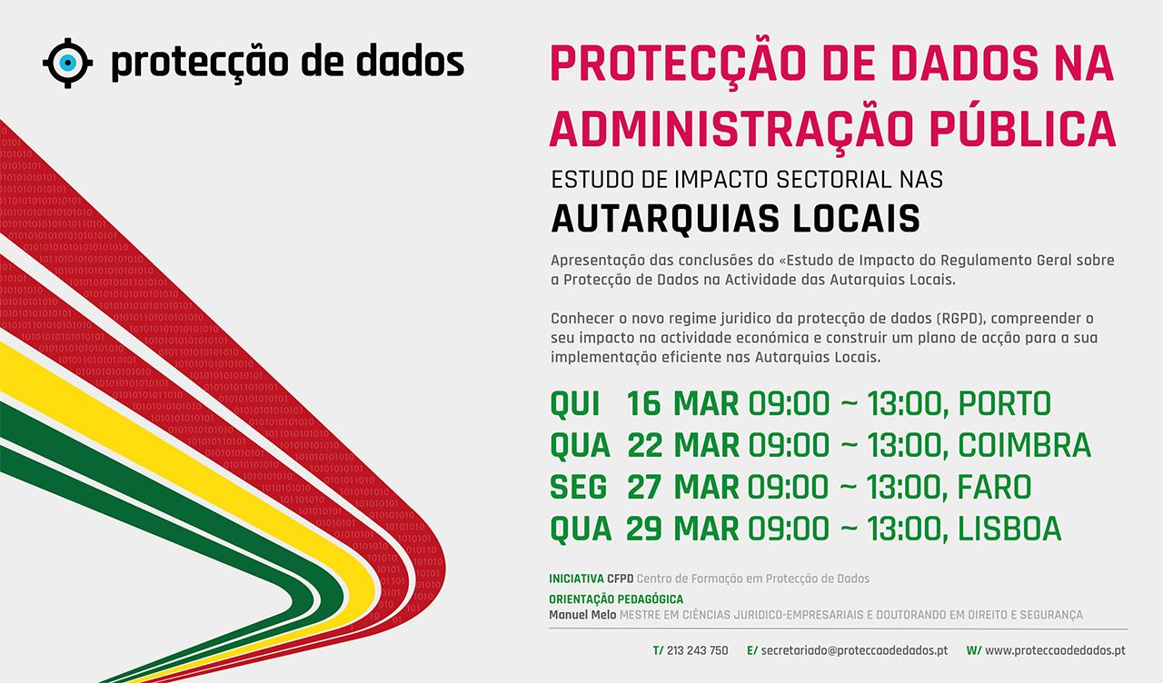 I Curso de Formação - Estudo de Impacto Sectorial - «Protecção de Dados Pessoais na Administração Pública Local - Autarquias Locais»