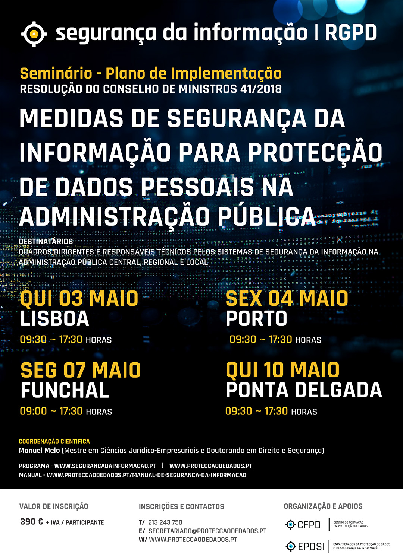 Workshop - Decreto Regulamentar 41 de 2018 - Medidas de Segurança da Informação