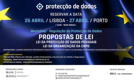 Workshop – Novas Propostas de Lei da Protecção de Dados Pessoais