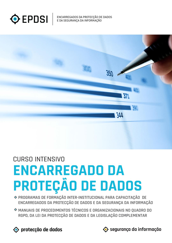 Curso de Formação Intensiva - Encarregados da Protecção de Dados - EPD - RGPD