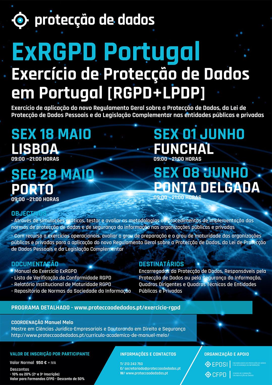 ExRGPD - Exercício RGPD Portugal - Protecção de Dados